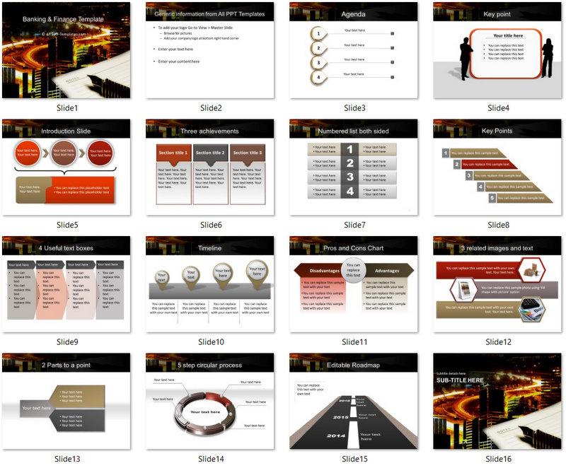 PowerPoint Track Market Development Template 01