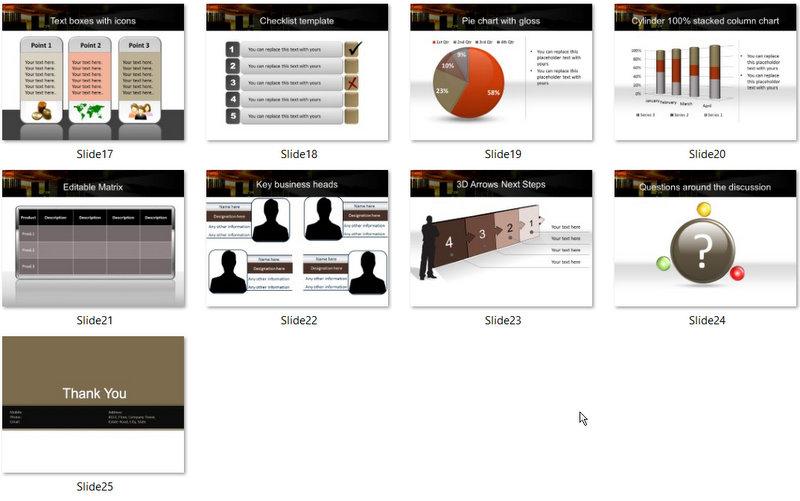 PowerPoint Track Market Development Template 02