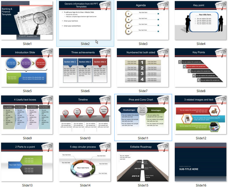 PowerPoint Market Intelligence Template 01