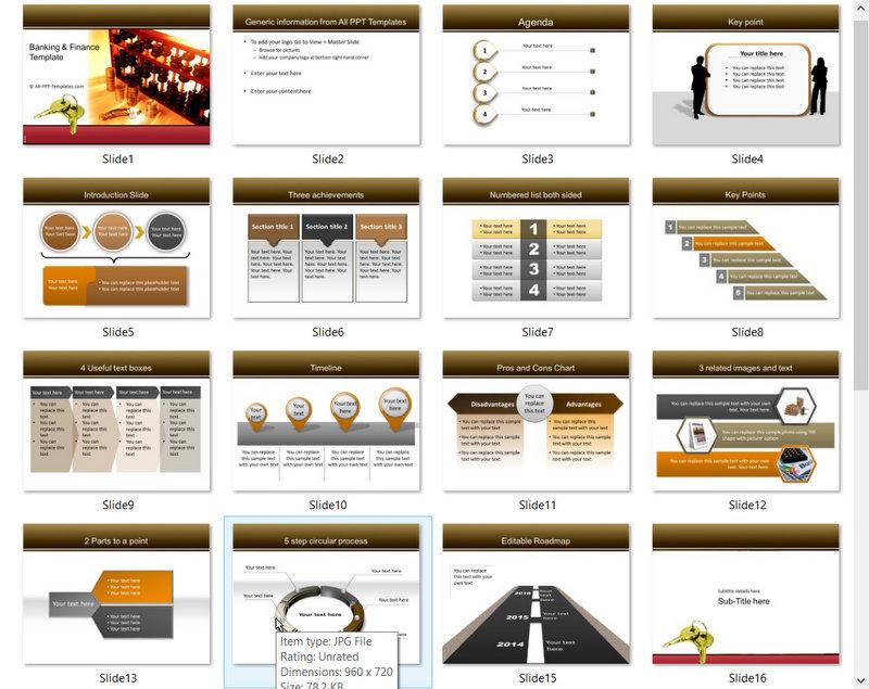 PowerPoint Keys to Market Template 01