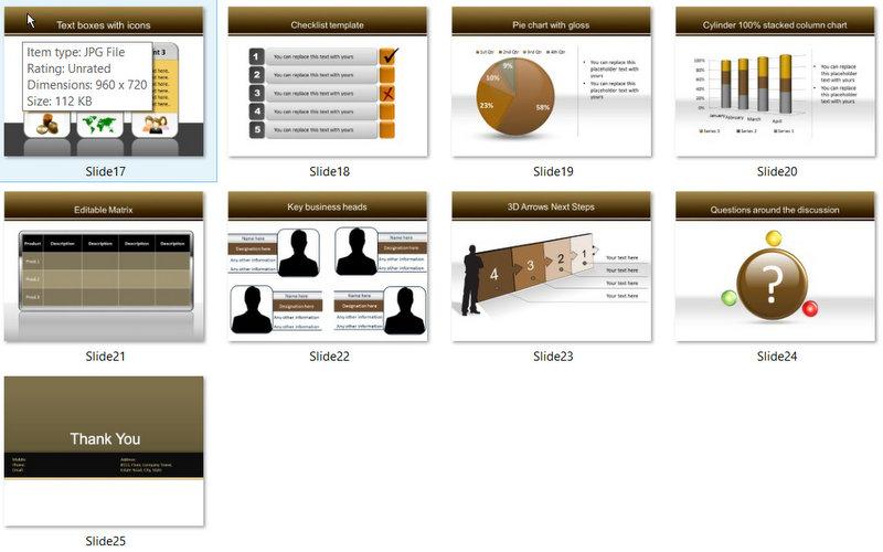 PowerPoint Keys to Market Template 02