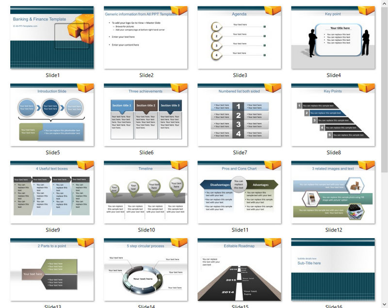 PowerPoint Commodities Market Template 01