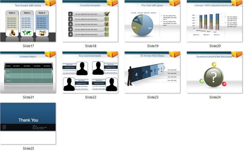 PowerPoint Commodities Market Template 02