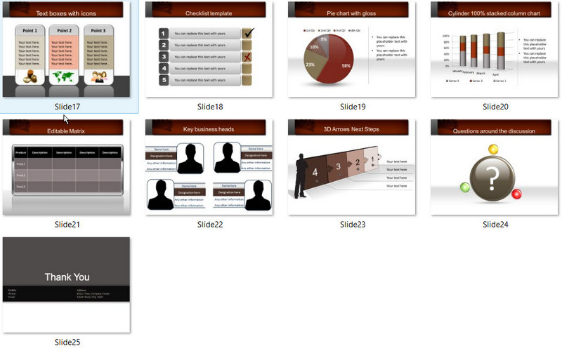PowerPoint Money Discussion Template 02