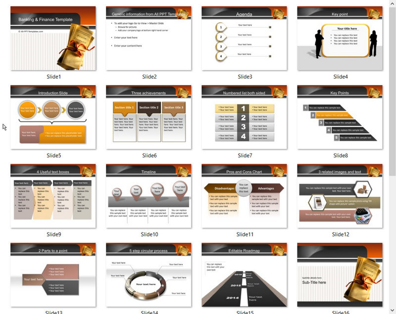 PowerPoint Insurance Template 01