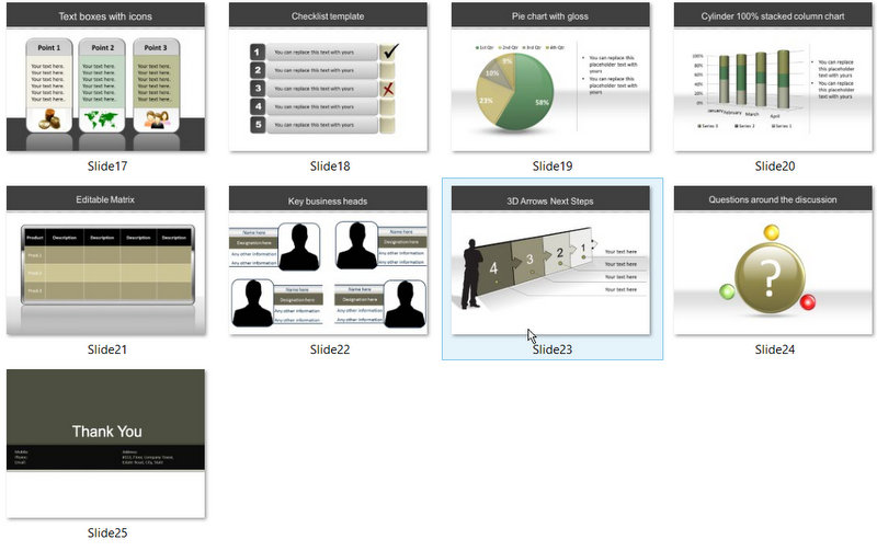 PowerPoint Banking Savings Template 02