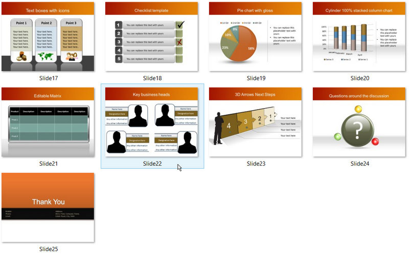 PowerPoint Banking Check Template 02
