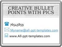 Creative Bullet Point