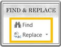 Find and Replace in PowerPoint