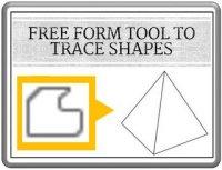 Trace Shapes Freeform