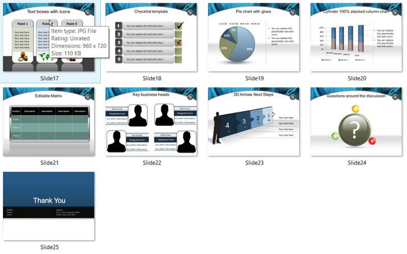 PowerPoint Finance Savings Template 02