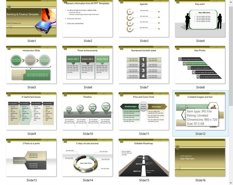 PowerPoint Financial Planning Template 01