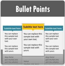 PowerPoint Bullet Point List