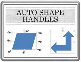 Manipulate with Handles in Auto Shapes