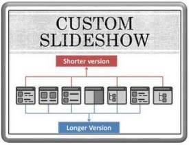 How To Custom Slideshows