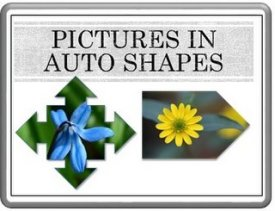 Pictures in Autoshapes