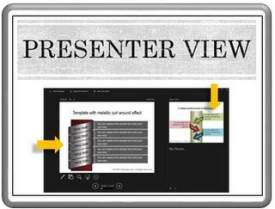 Presenter View in PowerPoint 2013