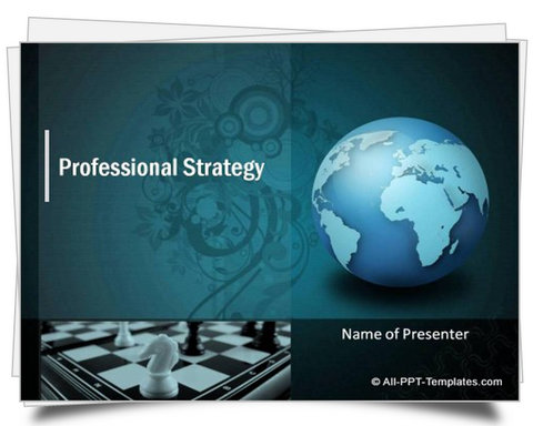 Professional Strategy Template