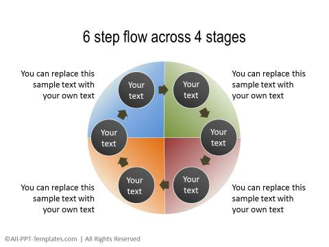 PowerPoint Circular Flow 11