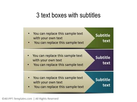 PowerPoint Text with Title 04