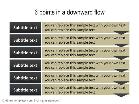 PowerPoint Text with Title 29