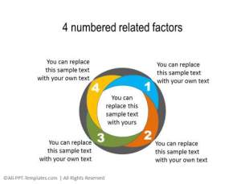 PowerPoint Segmented Circle 12