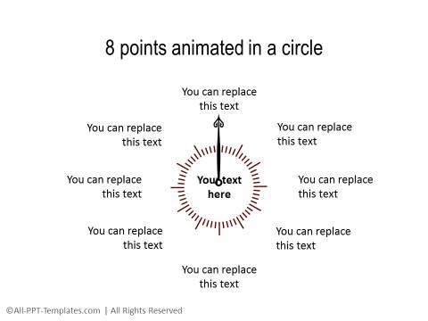 PowerPoint Circular Flow 14