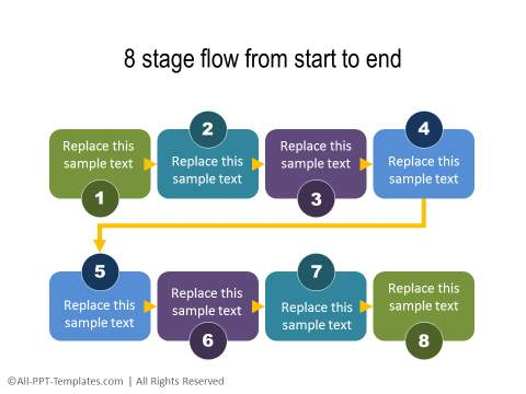 PowerPoint Creative Process Flow 04
