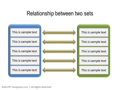 PowerPoint Relationship Diagram 18