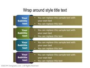 PowerPoint Text with Title 16