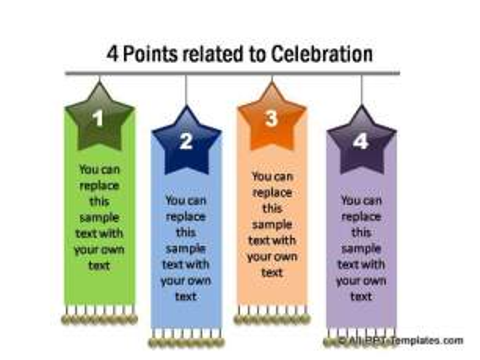 4 Points for celebration