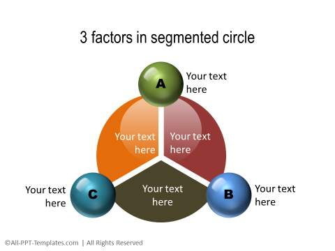 PowerPoint Segmented Circle 06