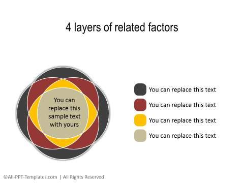 PowerPoint Segmented Circle 09