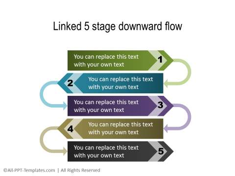 PowerPoint Creative Process Flow 01