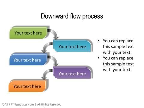 PowerPoint Creative Process Flow 08