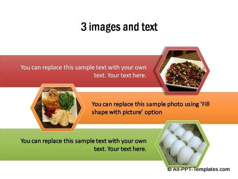 3 PowerPoint images and text