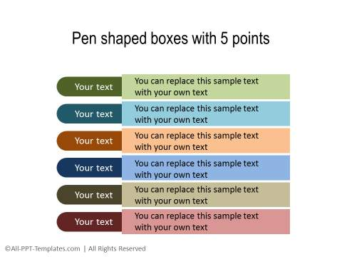 PowerPoint Text with Title 19