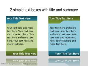 PowerPoint Text with Title 34