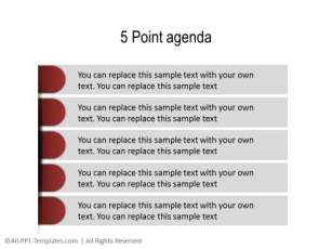 PowerPoint Agenda 10