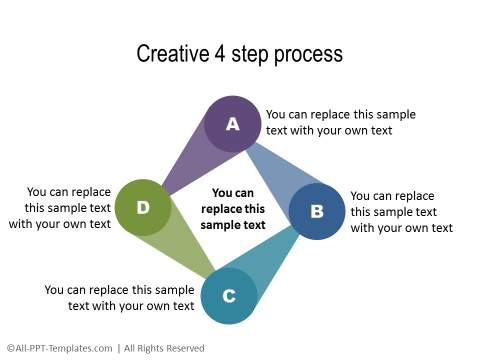 PowerPoint Circular Flow 24