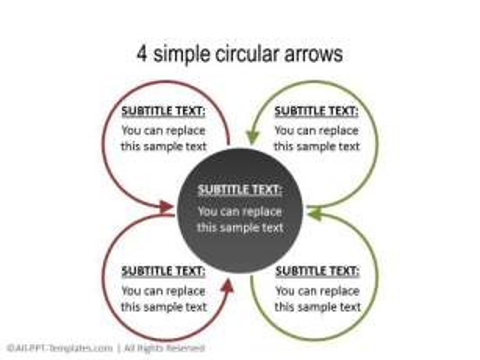 PowerPoint Circular Flow 36