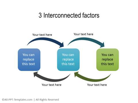 PowerPoint Relationship Diagram 13
