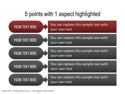 PowerPoint Text with Title 27
