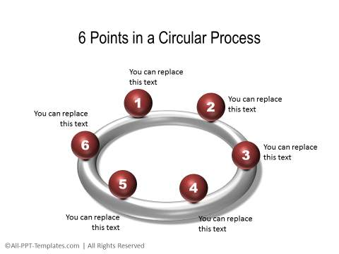 PowerPoint 3D Circle 35