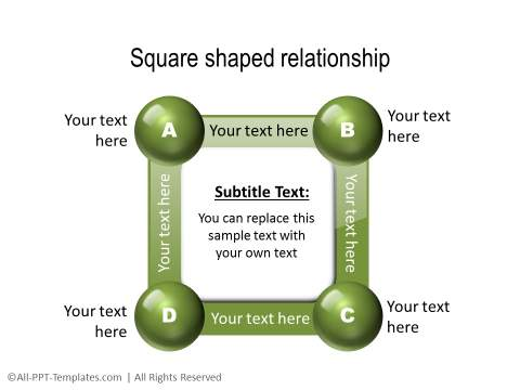 PowerPoint 3D Relationship 08
