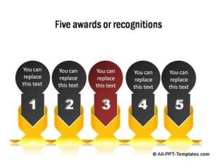 5 awards or recognition