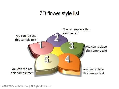 PowerPoint Circular List 13