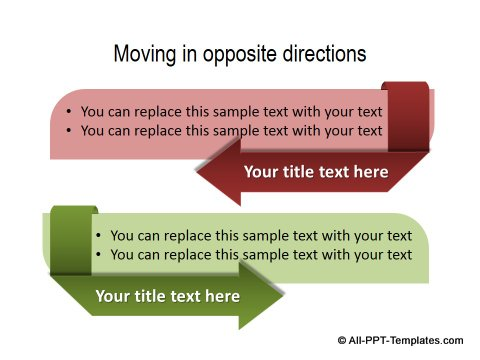PowerPoint Opposite Directions Template 02