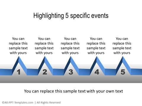 PowerPoint Linear Timeline 10