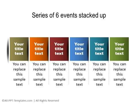 PowerPoint Linear Timeline 15